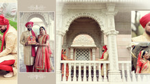 Robbinsville BAPS Shri Swaminarayan Mandir | Jalpa & Jay | Traditional Gujarati Indian Wedding