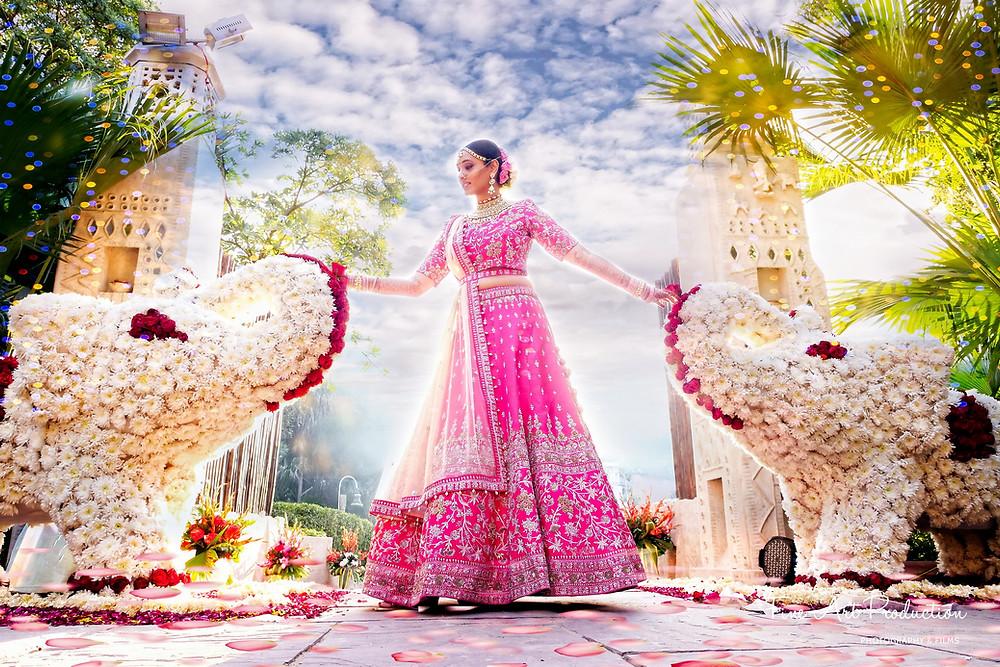 designer-indian-bridal-outfit-pink-lehenga