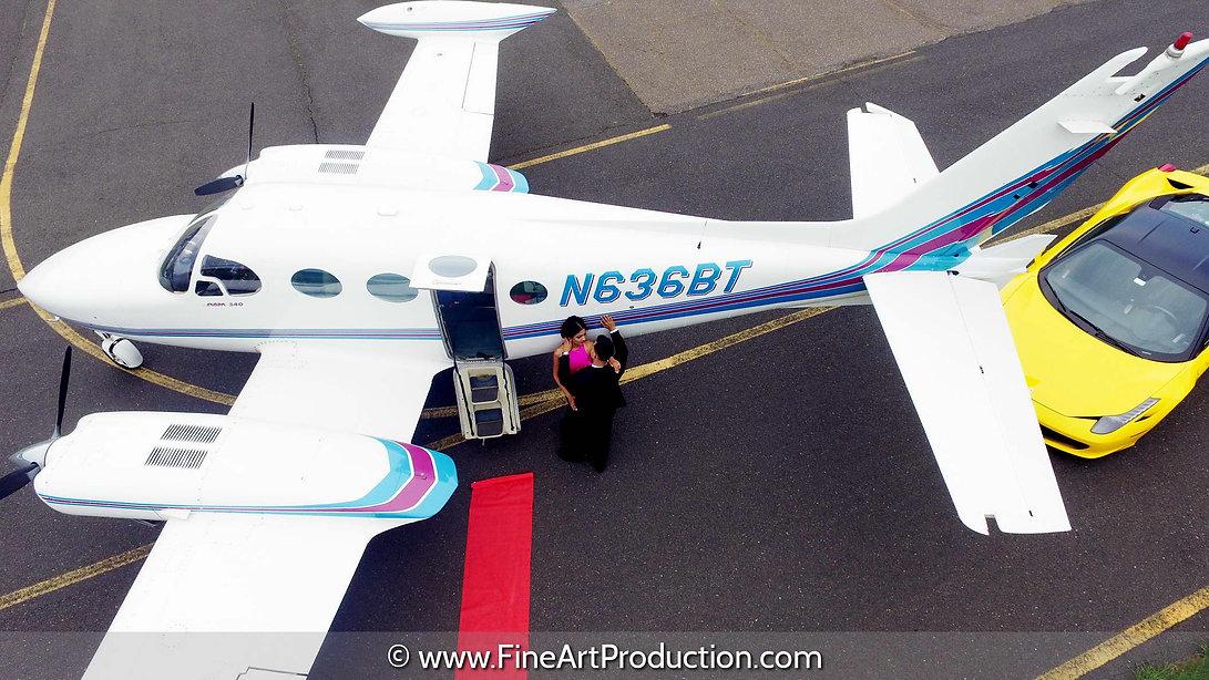 exotic-car-and-plane-engagement-photosho