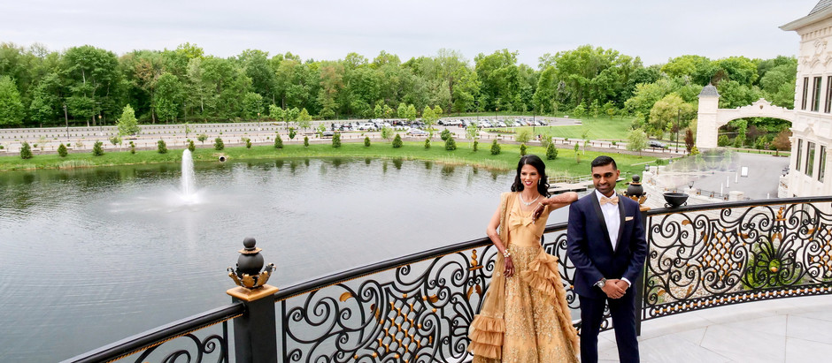 THE LEGACY CASTLE - NEW JERSEY - LUXURY INDIAN WEDDING RECEPTION VENUE - INDIAN WEDDING PHOTOGRAPHER