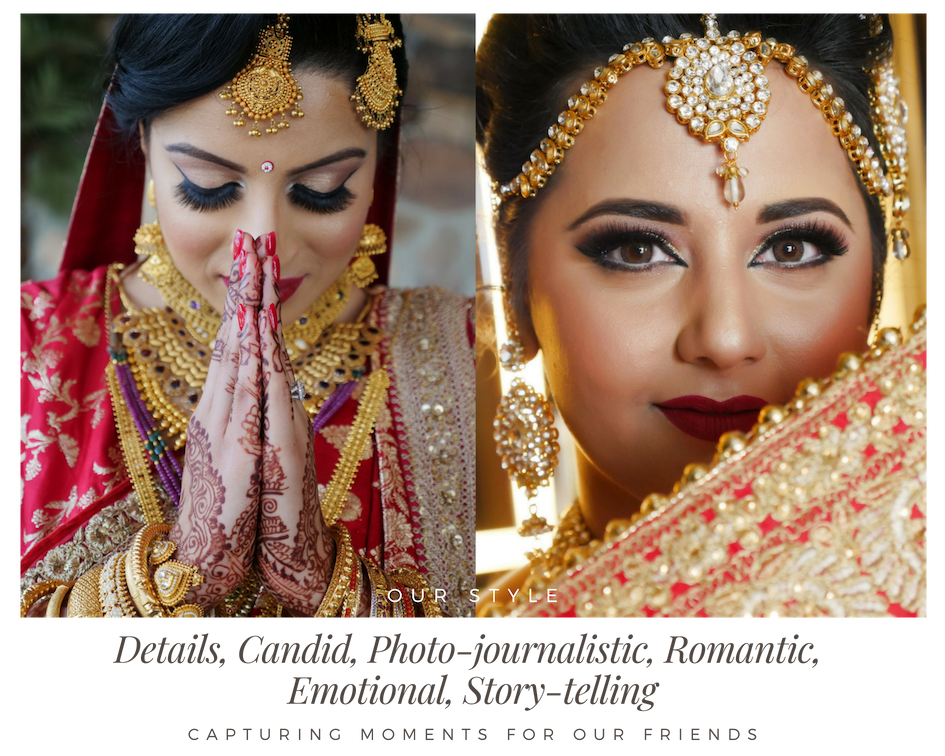 Live Streaming Indian Wedding - Fine Art Production
