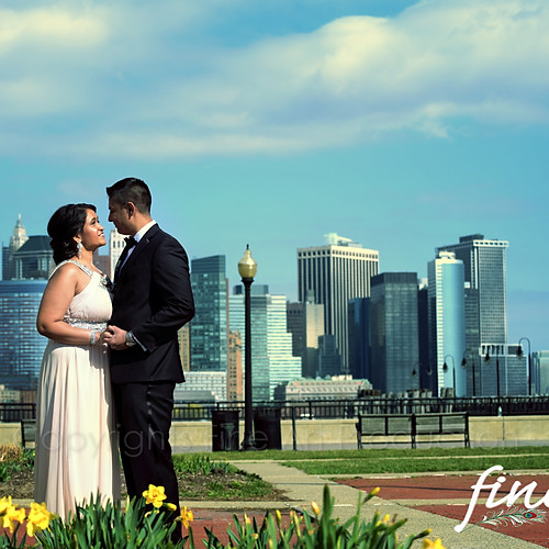 Liberty State Park Engagement Photo Session