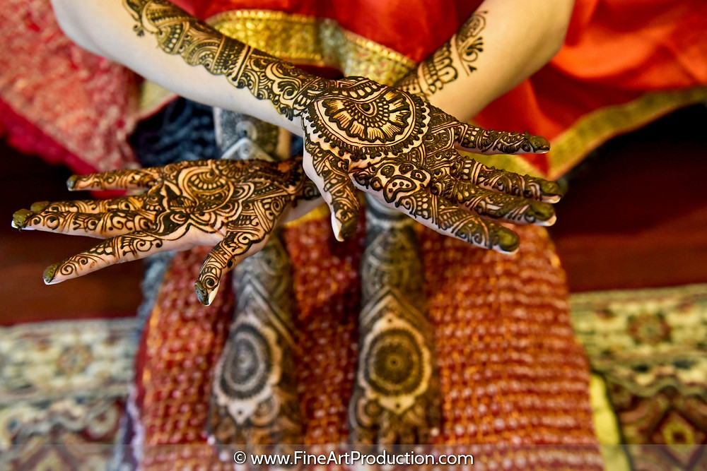 dulhan closeup photo
