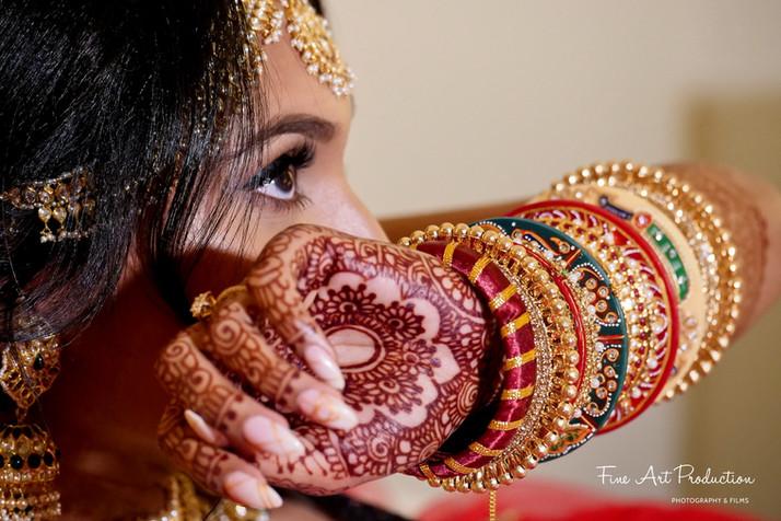 indian wedding bridal jewelry bangles