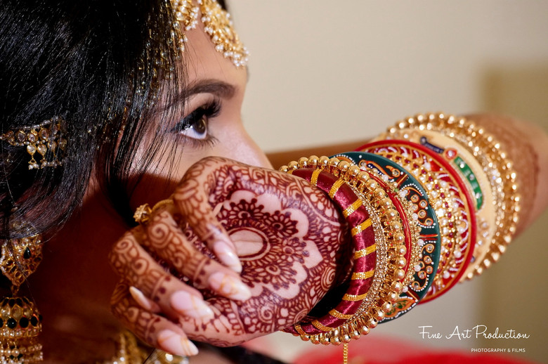 indian wedding bridal jewelry bangles