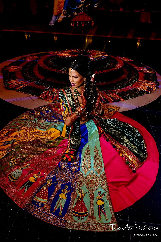 indian wedding garba outfit