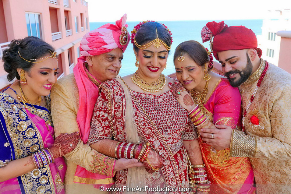 clearwater-beach-indian-wedding-family