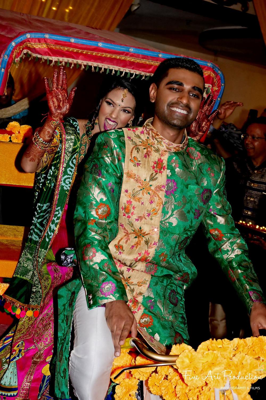 indian wedding garba dance