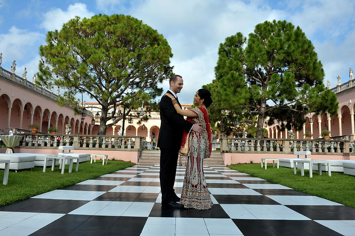 Ringling Museum Sarasot Florida wedding