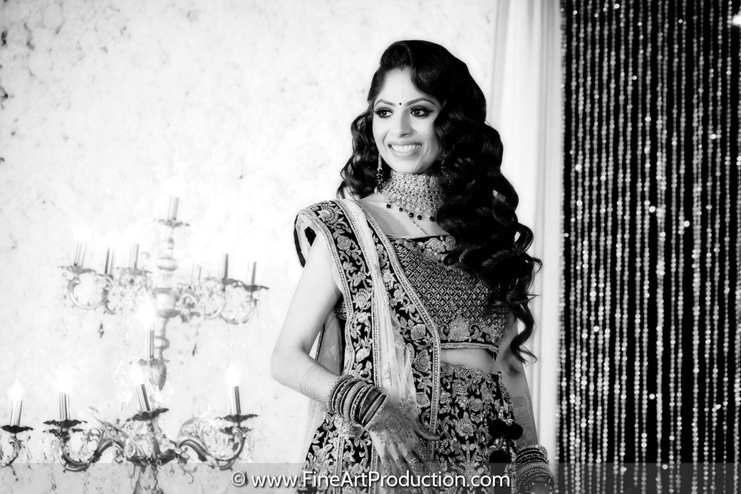 indian-wedding-black-and-white-portrait
