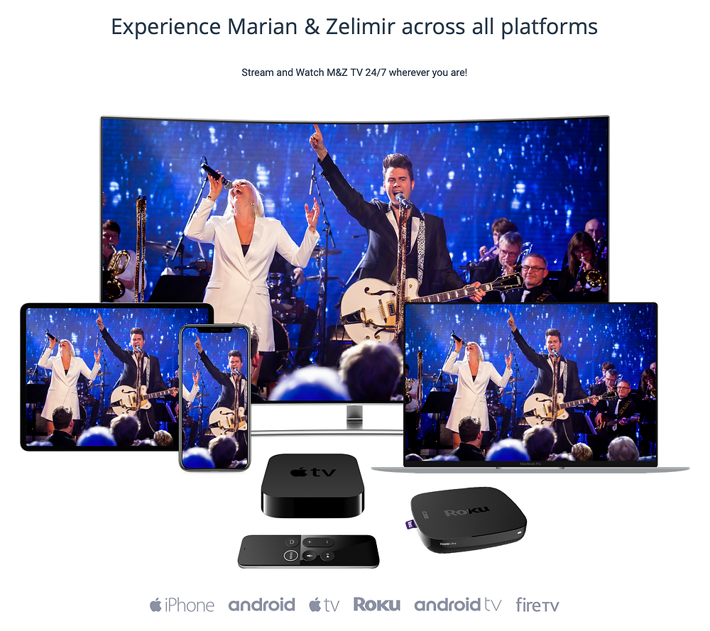 Marian & Zelimir on all devices such as iphone, android, apple tv and more
