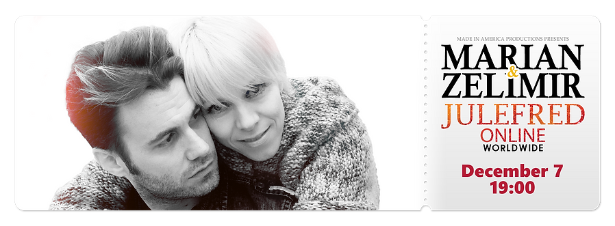 Marian&Zelimir - Julefred ONLINE ticket_