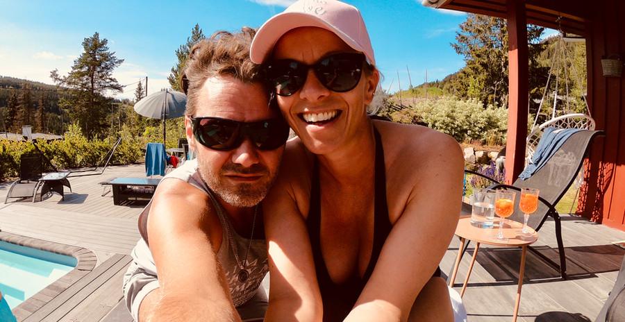 Marian Aas Hansen and Zelimir Villa Love