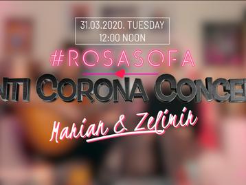 Anti-Corona online concert with Marian & Zelimir Live
