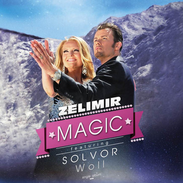 Magic , ft. Solvor Woll CD Cover - Zelimir