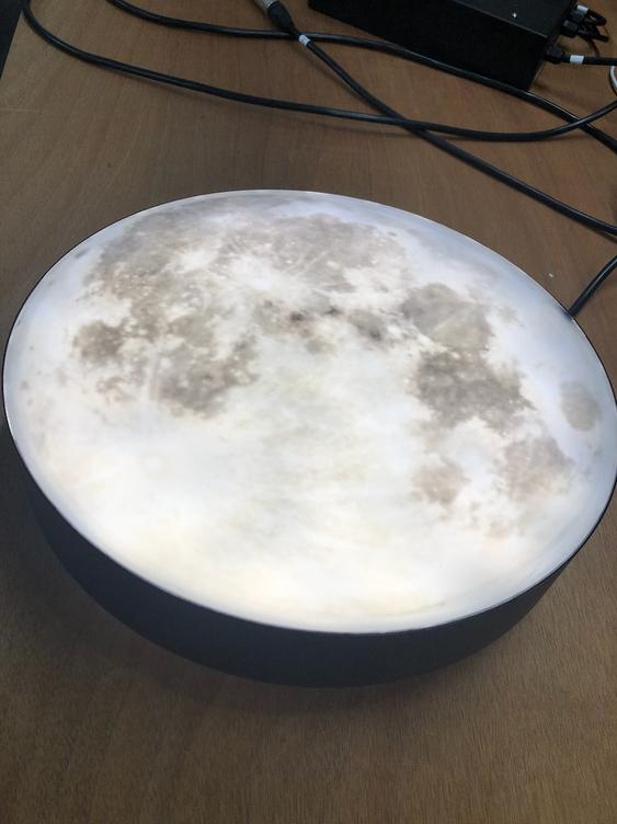 Lune lumineuse led