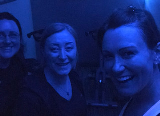 Spinning and sweating with Dee!