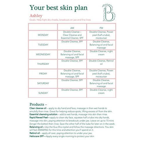 Your Best Skin Plan