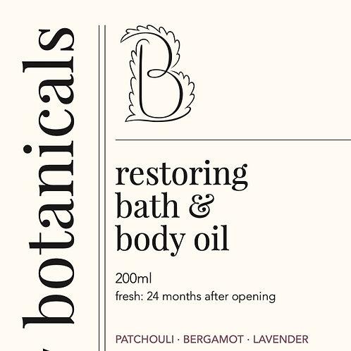 RESTORING BATH & BODY OIL