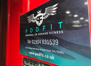 Creating new habits at Podfit in York!