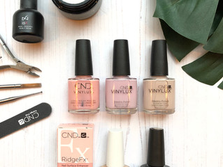 NEW NAIL TREATMENT:  Revive & Enhance Manicure