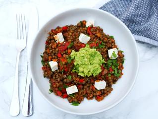 Spicy Paprika Lentils by Susie Ravasio