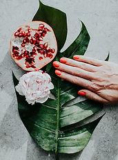 Gel nails, shellac nails, manicure