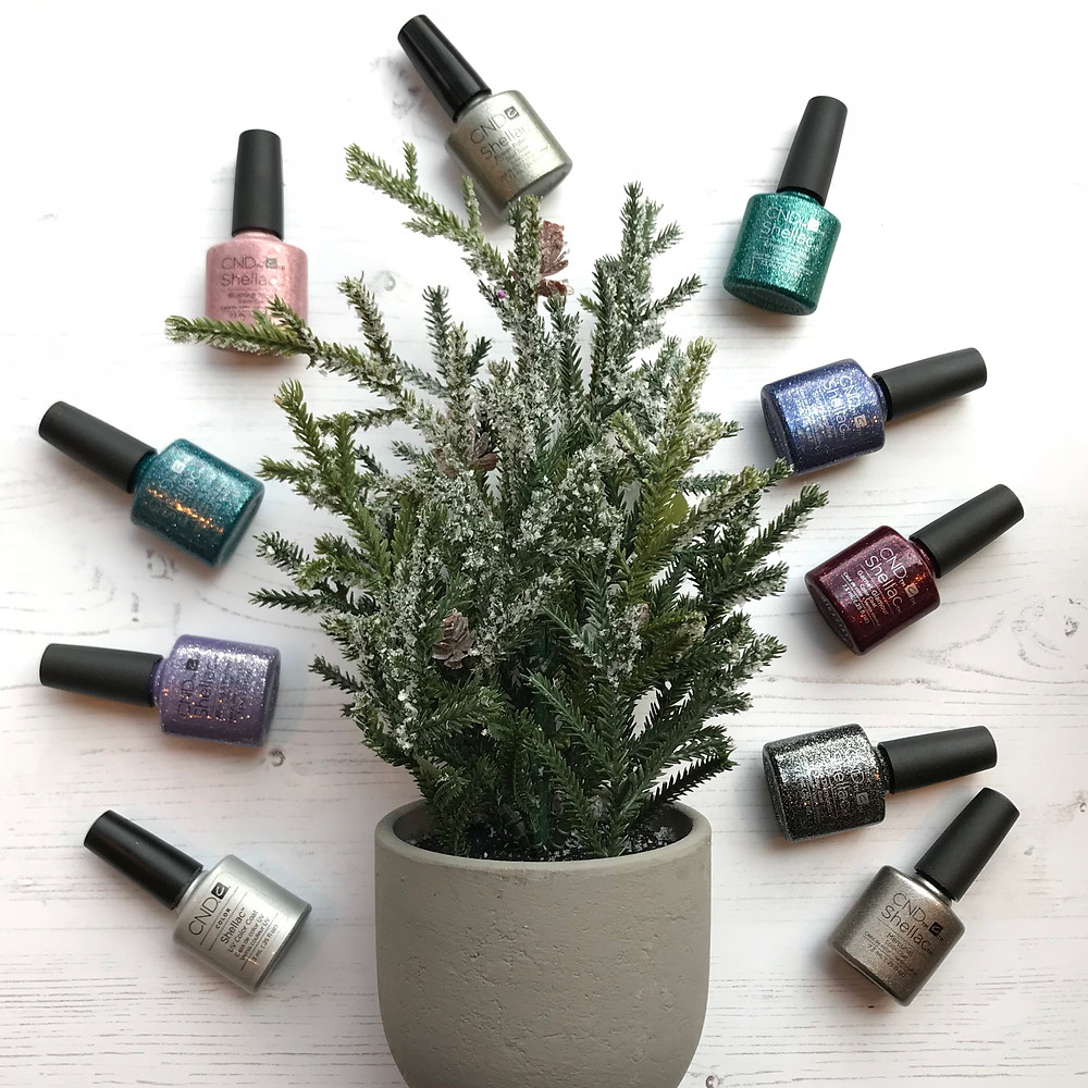 CND nail colours