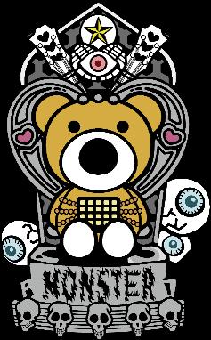 クマと椅子