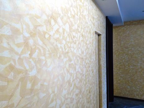 内壁漆喰塗り工事
