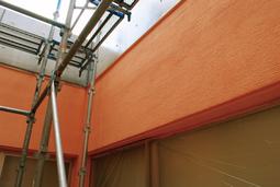 外壁塗り壁工事