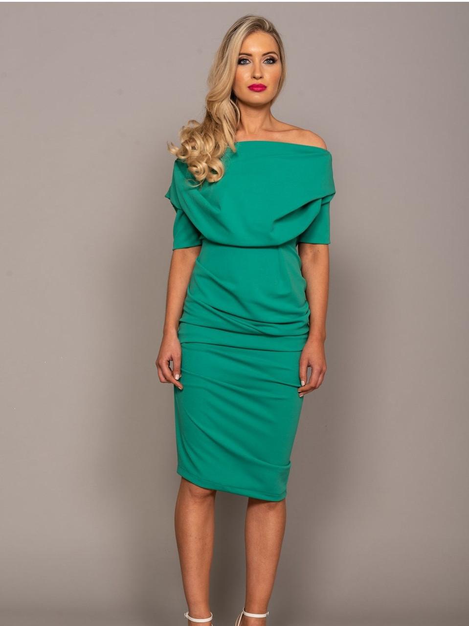 atom-label-verona-dress-pleat-shoulder-d
