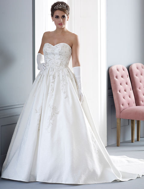 Ball Gown Weddng Dress