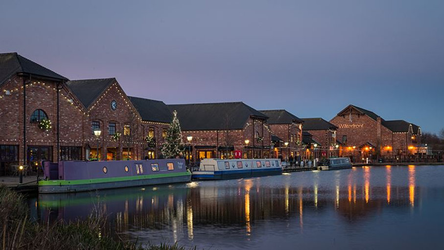 Barton Marina at Night