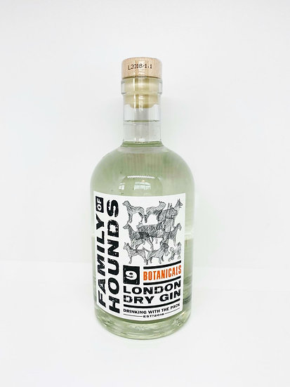 Family of Hounds 9 Botanicals London Dry Gin