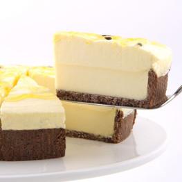 FG131 White choc and passionfruit cheese