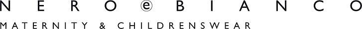 Nero e Bianco logo - maternity & childre