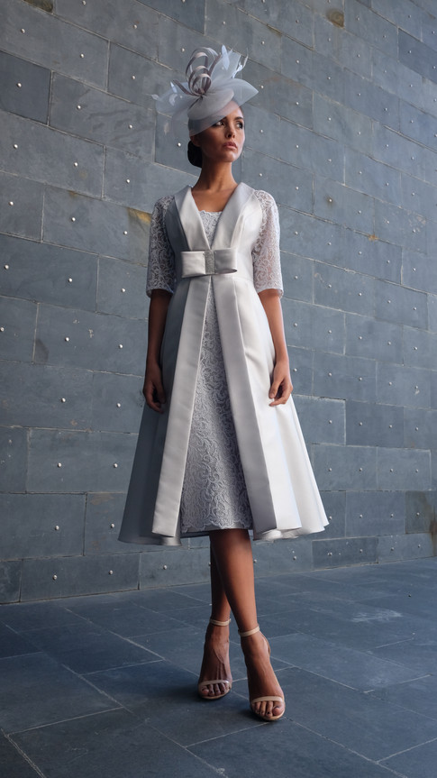 All-in-One Midi Bow Dress