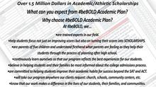 #beBold Academic Plan