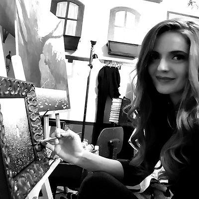 Champneys in Her Studio