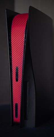 Red Carbon Fiber Middle Section Only