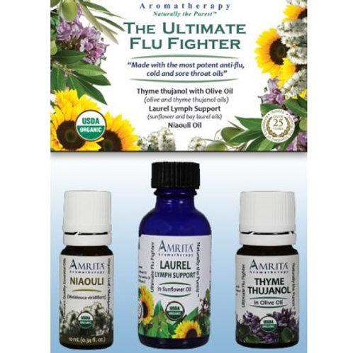 Essential Oil Flu Fighter Kit