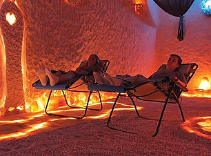 Salt Therapy in Salt Cave at Salt Spa Asheville