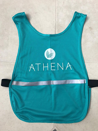 Athena vest with high-vis strip