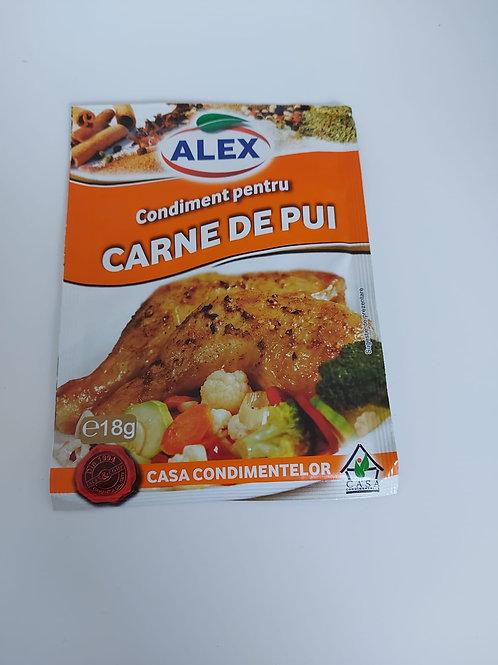 Alex Condiment pentru carne de pui 18g