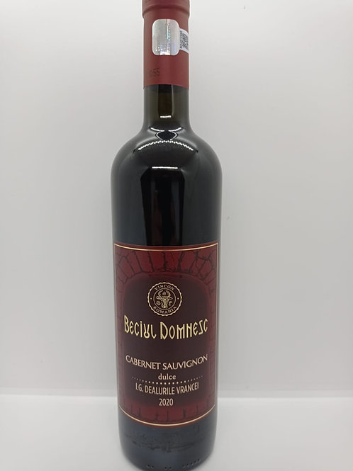 Beciul Domnesc Cabernet Sauvignon dulce 0,75L