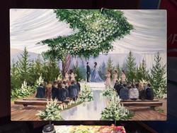 Картина свадебной церемонии