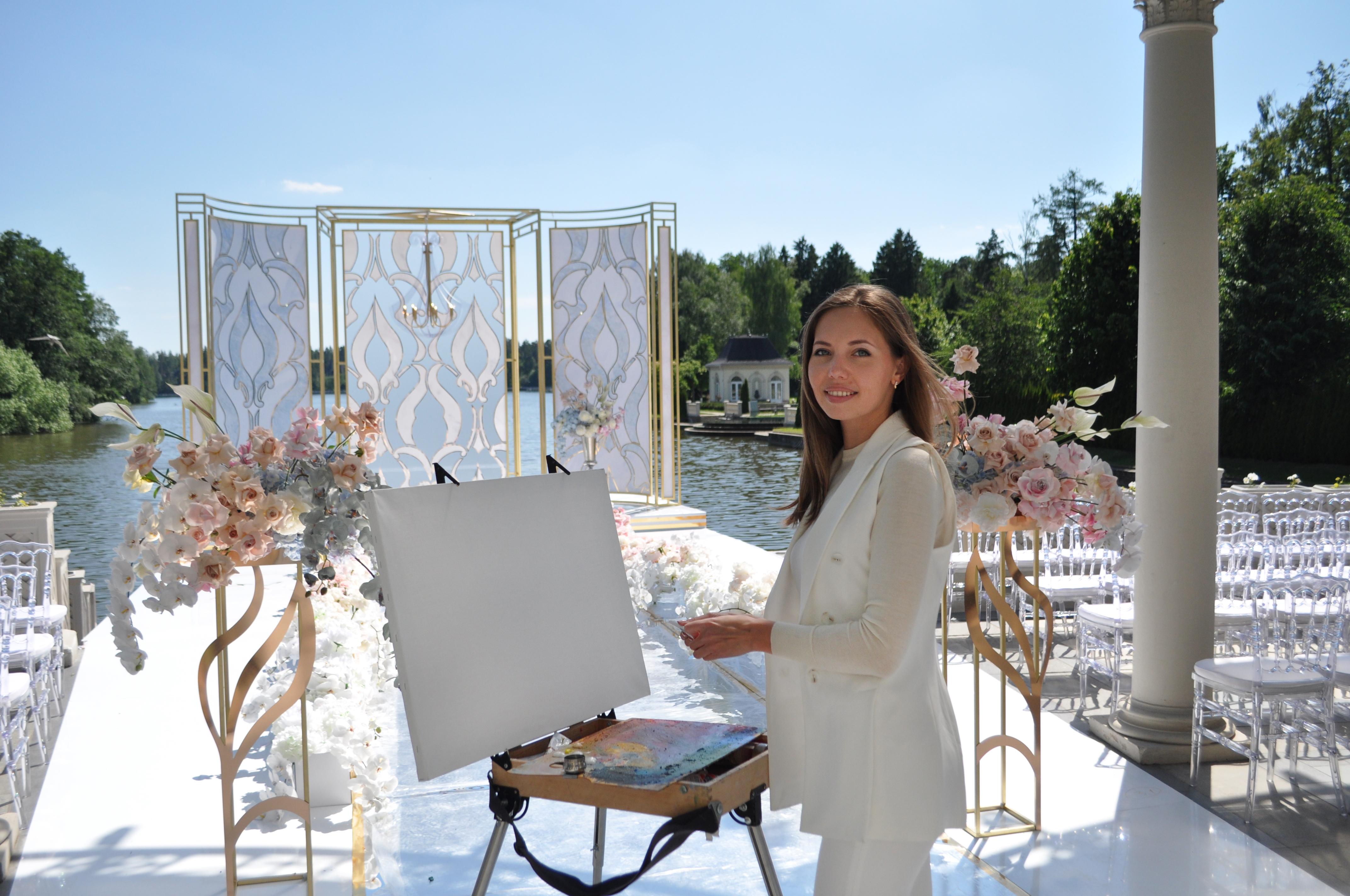 Художник на свадьбе