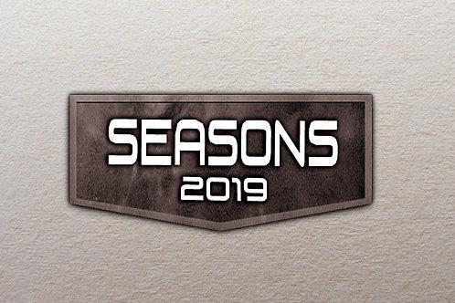 Seasons 2019 3 hobby box case