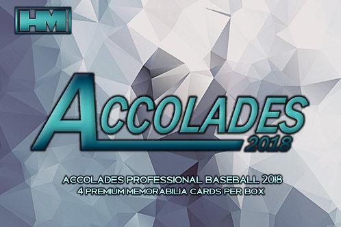 Accolades 2018 3 box case